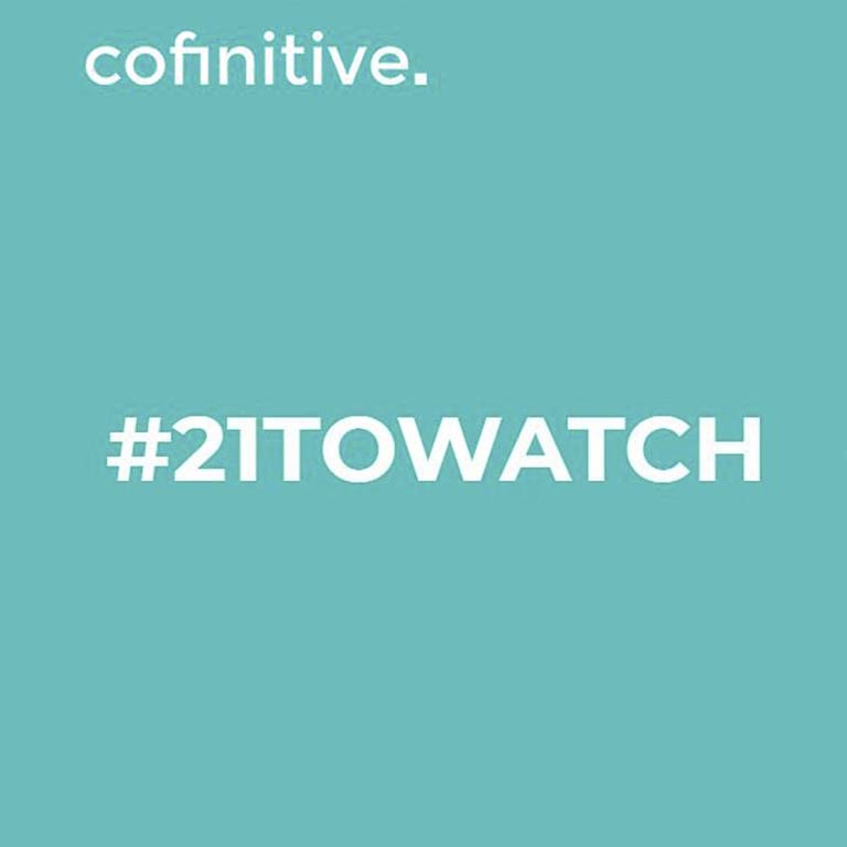 Carol Cheung named in Cofinitive's #21toWatch nominee list