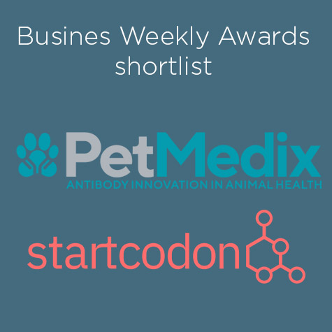 PetMedix and Start Codon shortlisted for the Business Weekly Awards